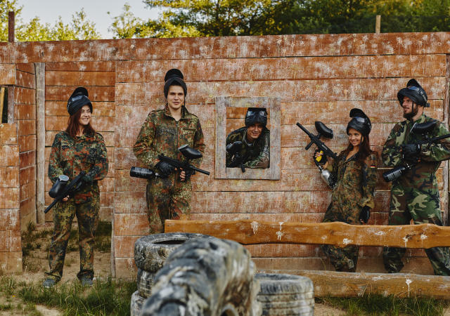 Paintball gracze